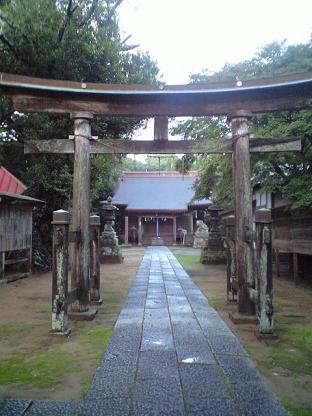 豊玉姫神社 鳥居