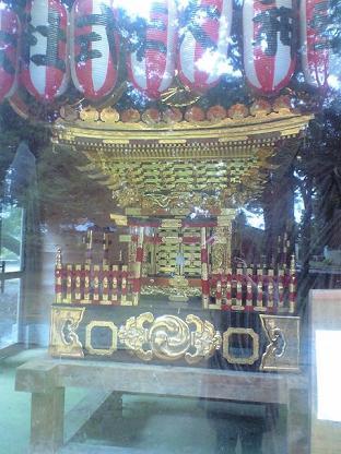 東大社 お神輿