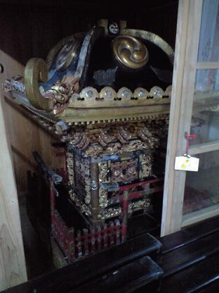 雷神社 いつものお神輿