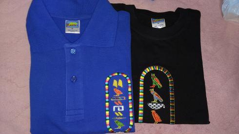 エジプト旅行:ポロシャツ Tシャツ