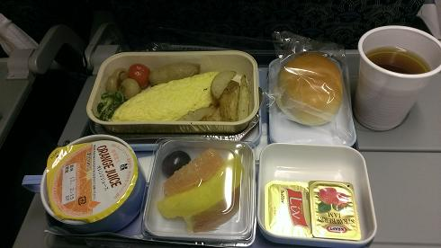 機内食 朝食