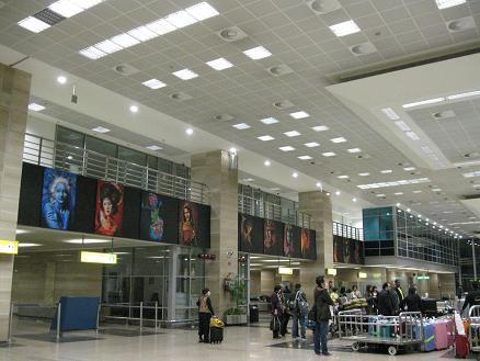 エジプト旅行:カイロ空港