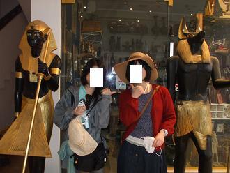 エジプト旅行:モービック お土産屋
