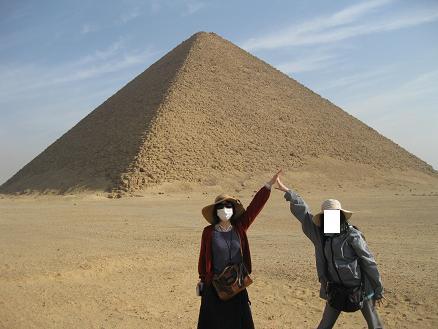 エジプト旅行:ダハシュール 赤のピラミッド