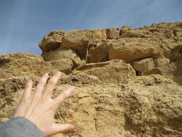 エジプト旅行:赤のピラミッド 登頂失敗