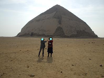 エジプト旅行:屈折ピラミッド