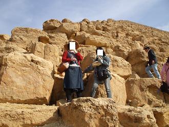エジプト旅行:赤のピラミッド 登頂①