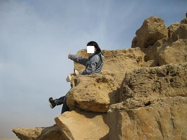 エジプト旅行:赤のピラミッド 登頂②