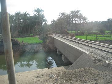 エジプト旅行:メンフィス バスの窓から③