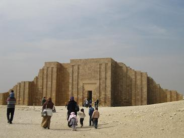 エジプト旅行:ジェセルのピラミッド複合体