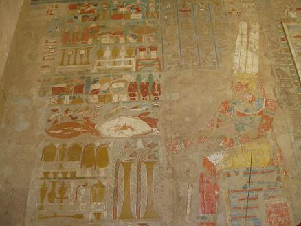 エジプト旅行:ハトシェプスト女王葬祭殿⑤