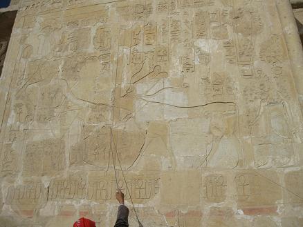 エジプト旅行:ハトシェプスト女王葬祭殿③
