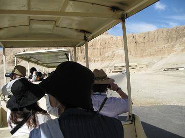 エジプト旅行:ハトシェプスト女王葬祭殿①