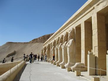 エジプト旅行:ハトシェプスト女王葬祭殿⑦