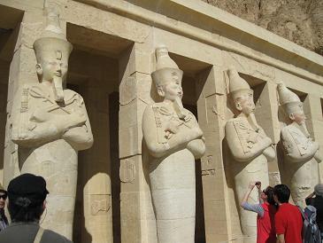 エジプト旅行:ハトシェプスト女王葬祭殿⑥