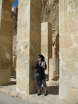 エジプト旅行:ハトシェプスト女王葬祭殿⑨