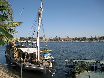 エジプト旅行:ナイル川クルーズ