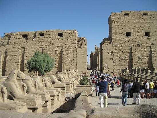 エジプト旅行:カルナック神殿