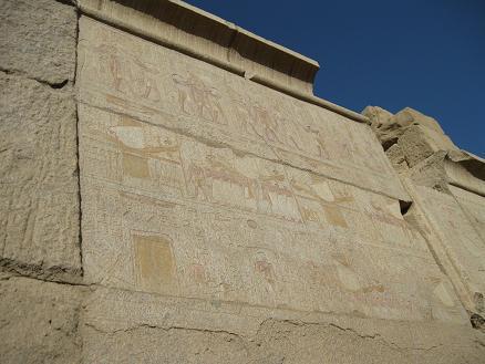 エジプト旅行:カルナック神殿④
