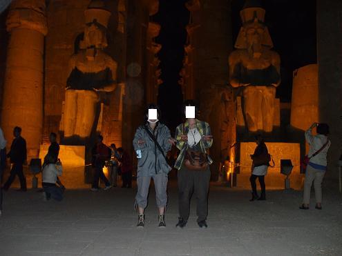 エジプト旅行:ルクソール神殿 入口
