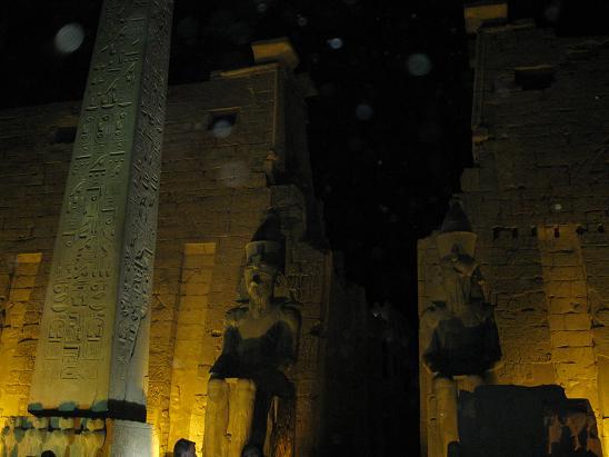エジプト旅行:ルクソール神殿 オベリスク
