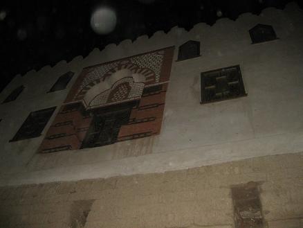 エジプト旅行:ルクソール神殿 モスク