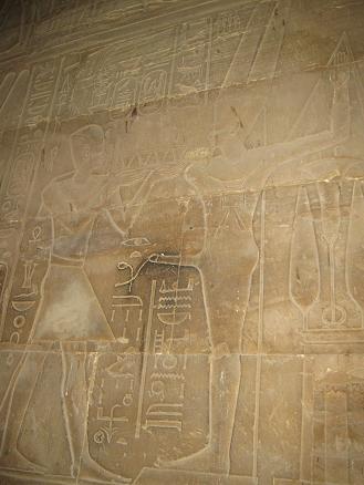 エジプト旅行:ルクソール神殿 ミン神