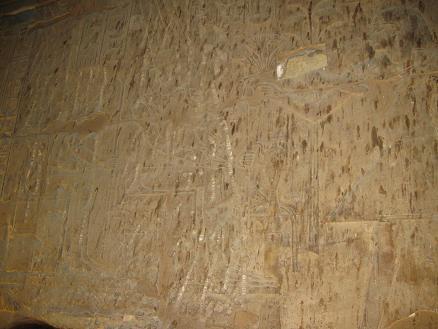 エジプト旅行:ルクソール神殿 ②