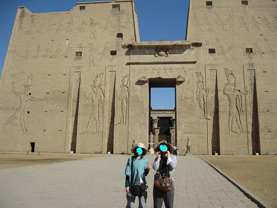 エジプト旅行:エドフ(ホルス)神殿