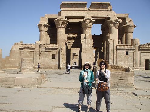 エジプト旅行:コムオンボ神殿