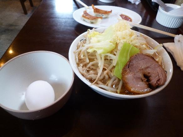 10年2月21日 大山 大麺ニンニク生卵