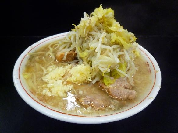 10年2月22日 鶴見 小豚ヤサイニンニク