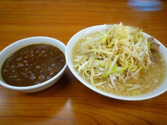 10年4月3日 凛蒲田 醤油 カレー小鉢チーズニンニク