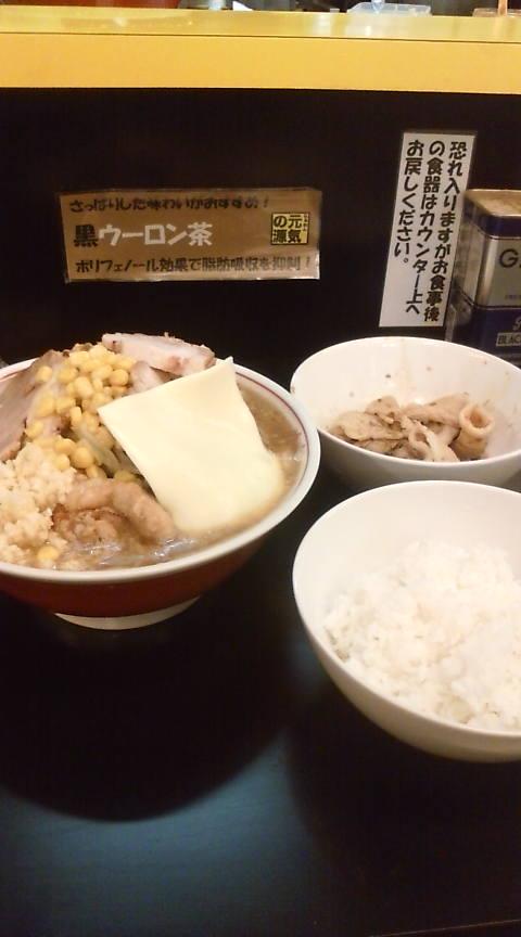 10年5月1日 元気の源2号店 チャーシュー麺ヤサイニンニク