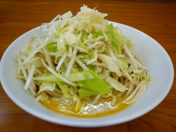 10年7月 凜蒲田 スープ無し辛肉味噌 ニンニク