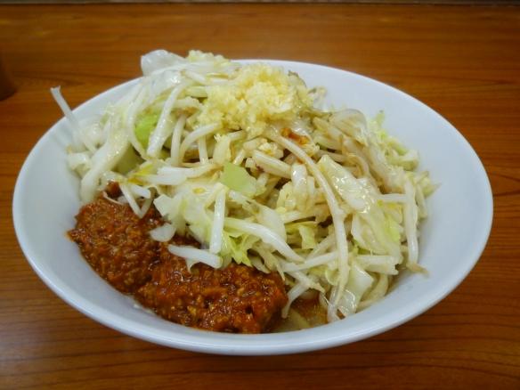 10年8月20日 凜蒲田 スープ無し辛肉味噌ニンニク