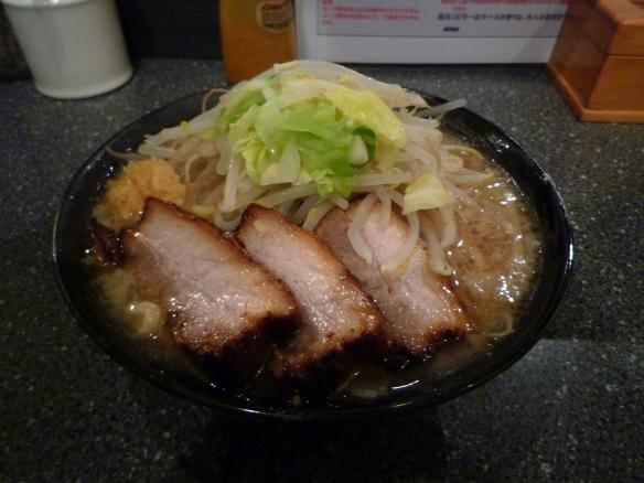 10年11月20日 麺バカ息子徹(106) 豚醤油ラーメンニンニク
