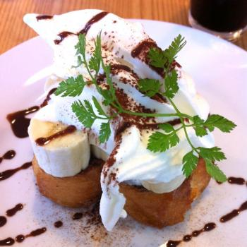 cafe+Haruharu パンケーキ