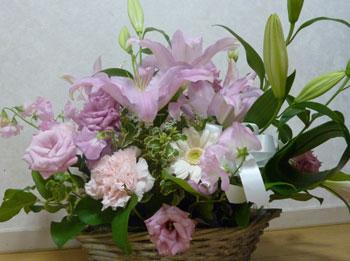 実姉からのお花