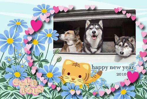 今年もよろしくです!