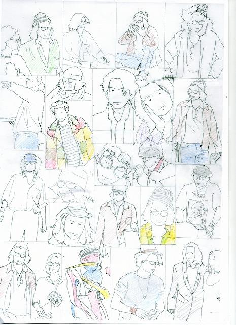 s-1ki-su漫画下絵