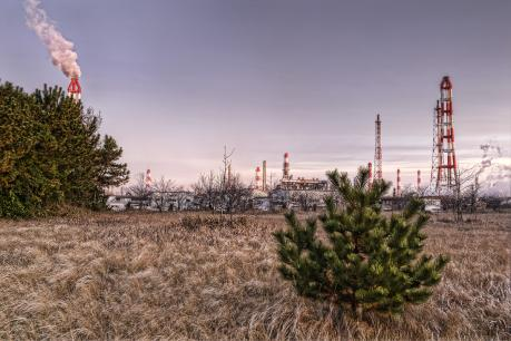 鹿島臨海工業地帯の砂山公園