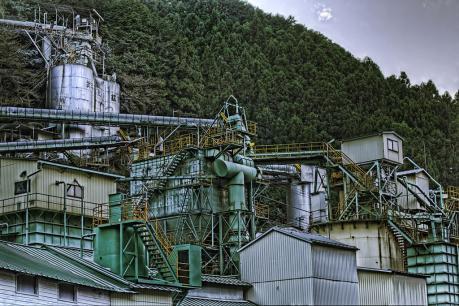 武甲鉱業と武甲山