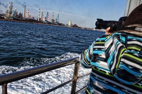 ユーリカ号で巡る鹿島港