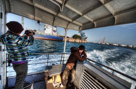 ユーリカ号で巡る鹿島臨海工業地帯