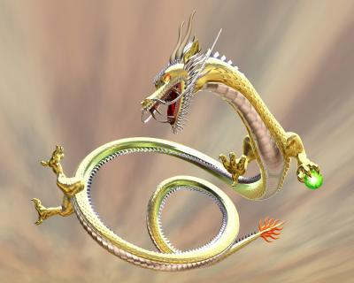 3Dドラゴン(東洋の龍)画像12011