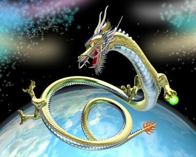 3Dドラゴン(東洋の龍)画像12021