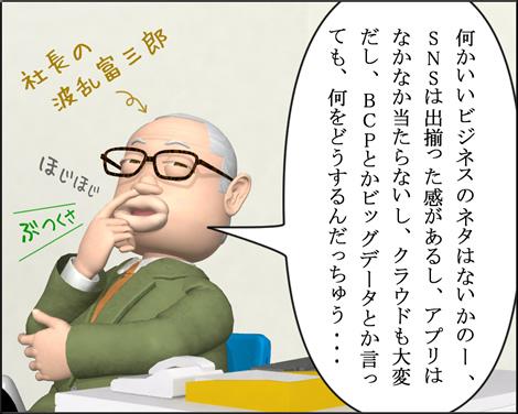 3Dキャラ4コマ漫画1203091
