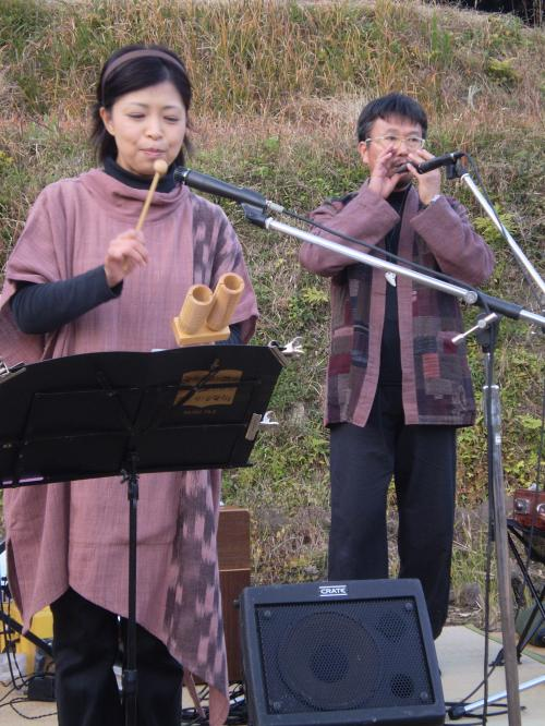 収穫祭 2010 野口さん