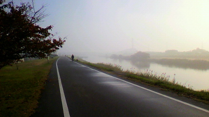 2009/11/23矢田踏切り